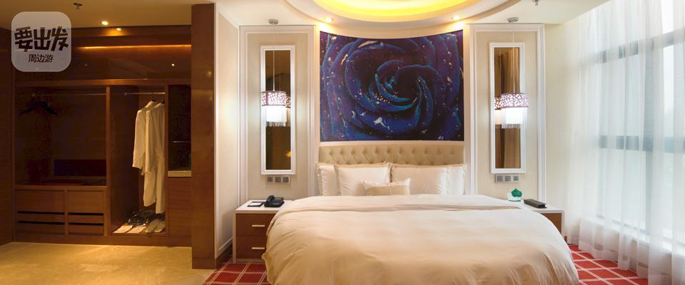 酒店圆床房欧式装修图片
