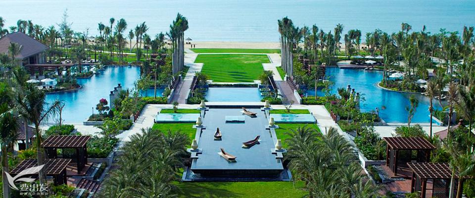 三亚海棠湾万丽度假酒店